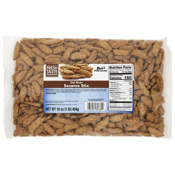 16 oz Oat Bran Sticks