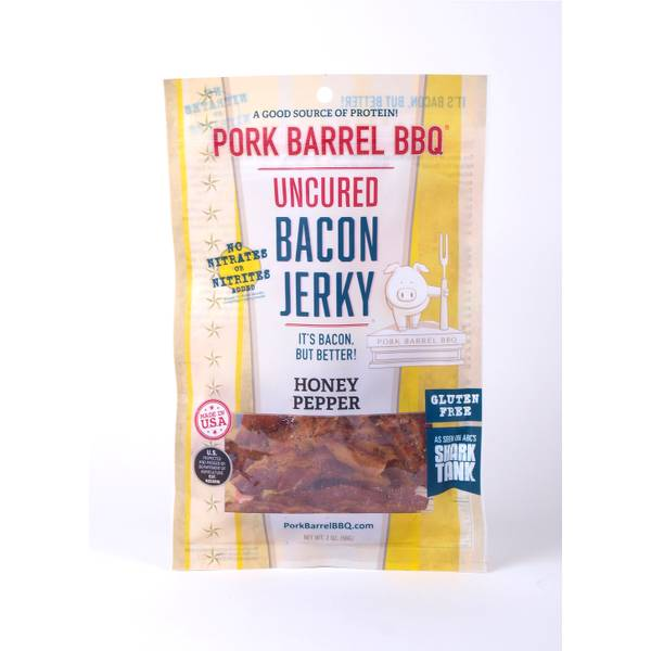 Honey Pepper Bacon Jerky