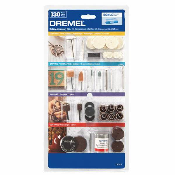 130 Piece Dremel Accessory Kit