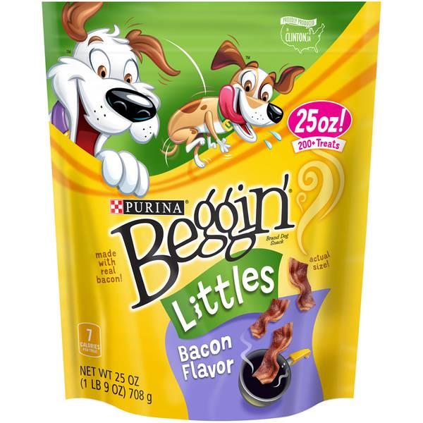 Beggin' Littles Bacon Flavor Dog Snack