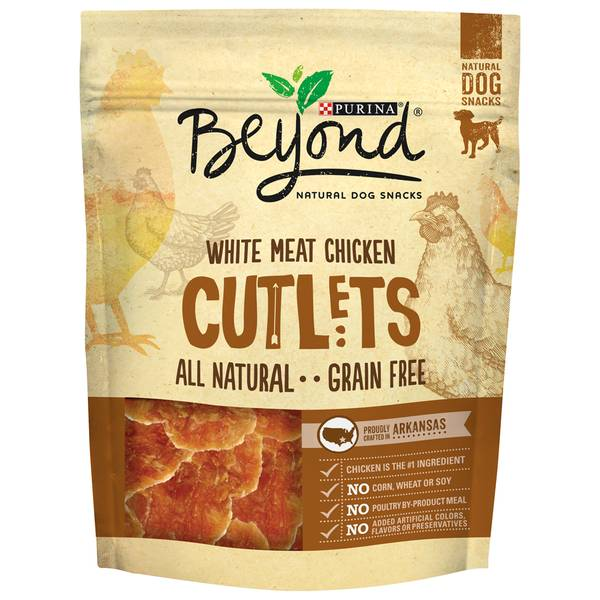 Beyond Grain Free Dog Cutlet Snacks with White Meat Chicken