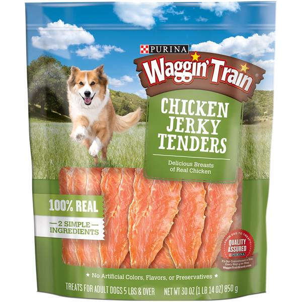 Waggin' Train Jerky Tenders Dog Treats