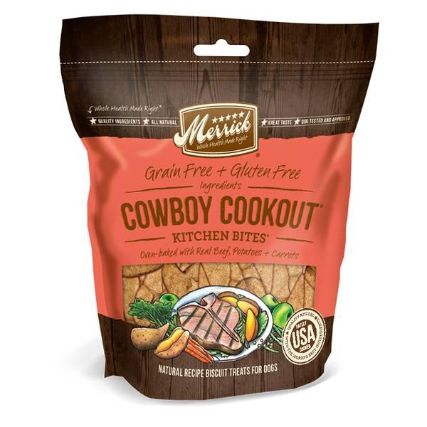 9 oz Beef Cowboy Cookout Kitchen Bites Dog Treats