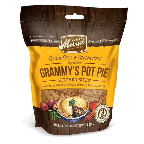 9 oz Grammy's Pot Pie Kitchen Bites Dog Treats