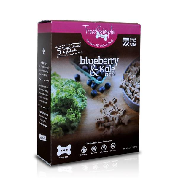Blueberry & Kale Dog Treats