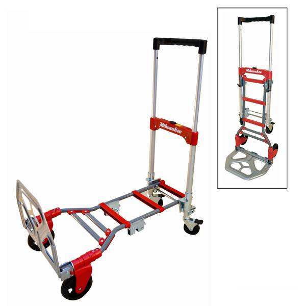 2 in 1 fold up convertible hand truck - Convertible Hand Truck