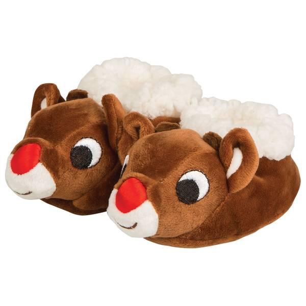 Babies' Rudolph the Red Nose Reindeer Booties