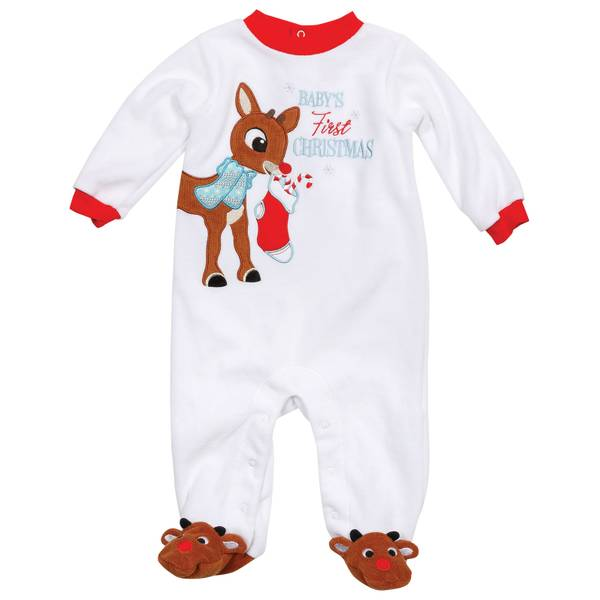 Babies' Rudolph the Red Nose Reindeer Baby's First Christmas Sleeper