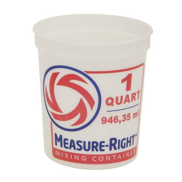 Measure-Right Mixing Container