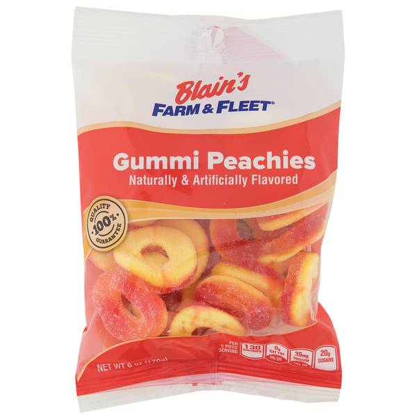 Gummi Peachies Grab N' Go Bag