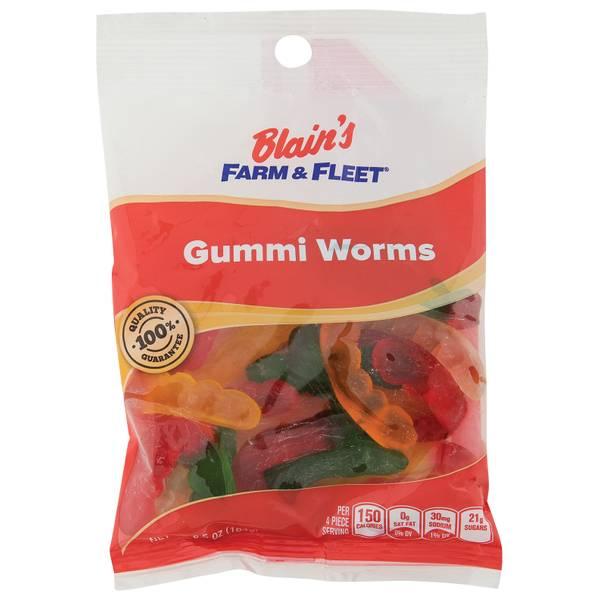 Gummi Worms Grab N' Go Bag