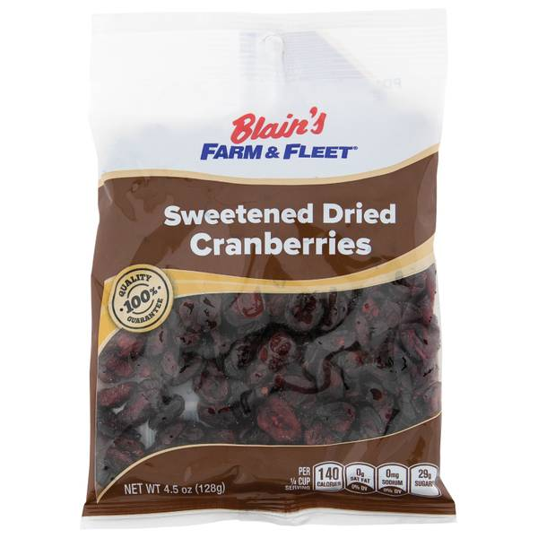 Dried Cranberries Grab N' Go Bag