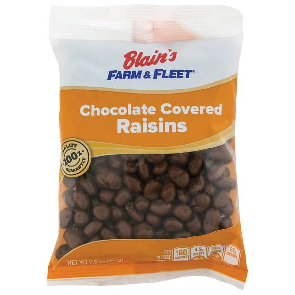 Chocolate Raisins Grab N' Go Bag