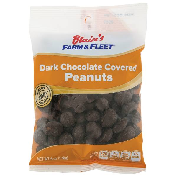 Dark Chocolate Peanuts Grab N' Go Bag