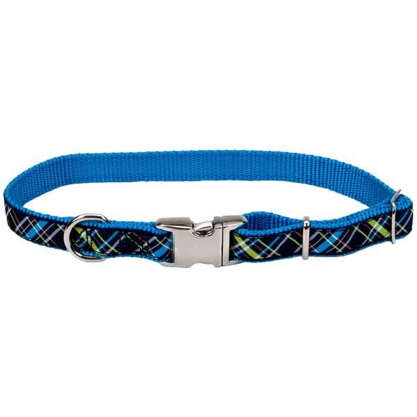 Pet Attire Ribbon Adjustable Nylon Collar