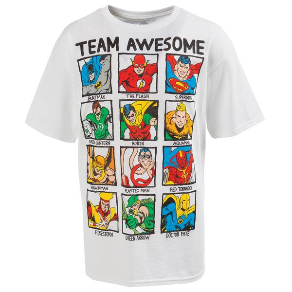 Boys'  Justice League Team Awesome Tee