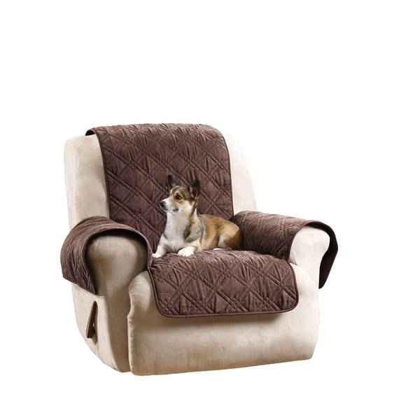 Chocolate Non-Skid Recliner Cover