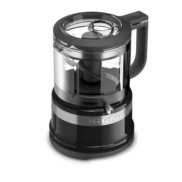 Black 3.5 Cup Mini Food Processor
