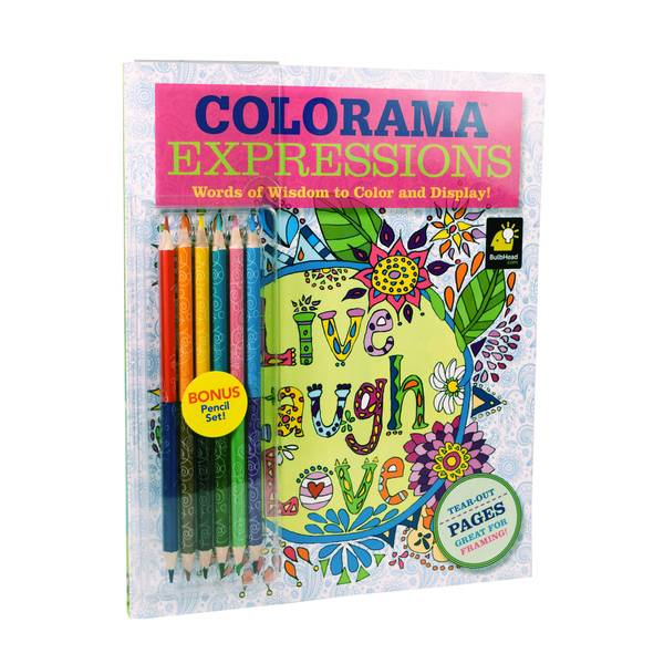 As Seen On TV Colorama Expressions Color Book