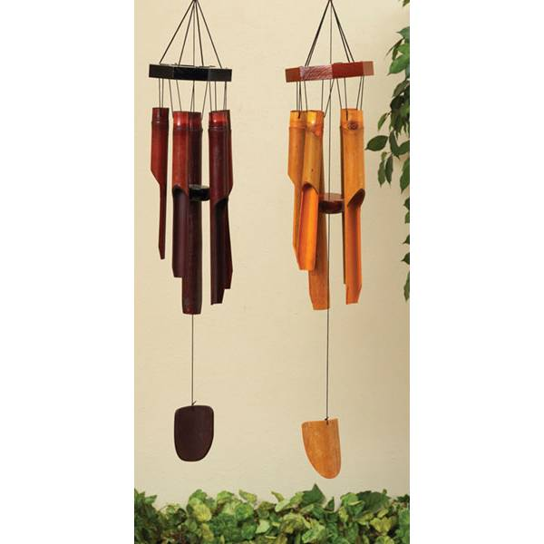 """28.5""""Bamboo Wind Chime Assorment"""