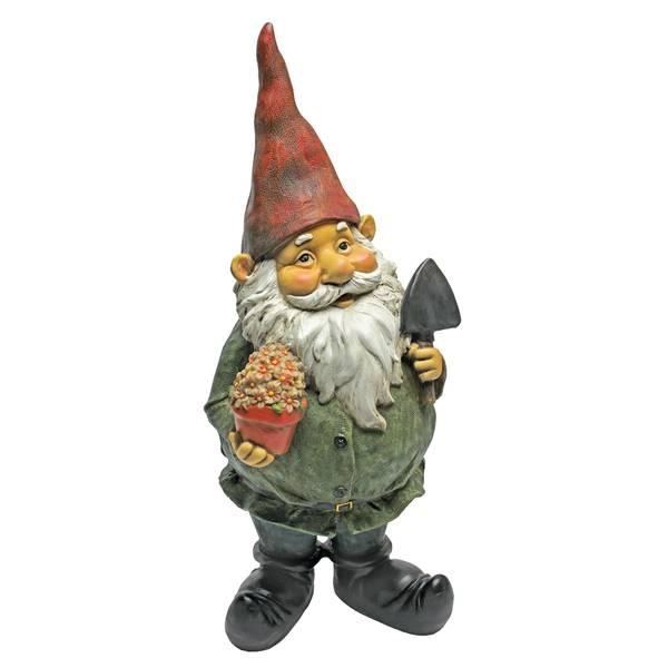 Dagobert Gifts Gnome Statue
