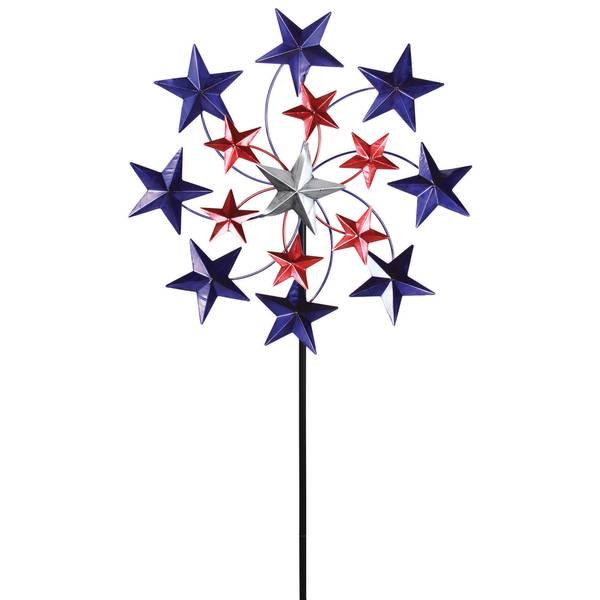 Star Spangled Spinner Stake