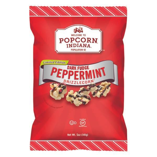 Dark Fudge Peppermint Drizzlecorn
