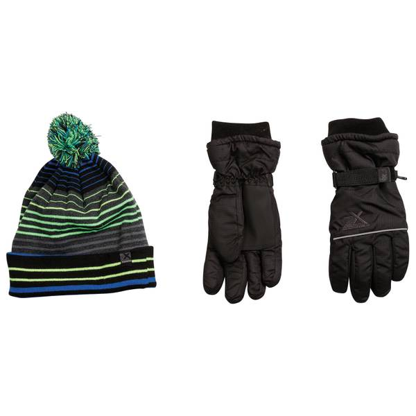 Boys' Boyce Hat & Gloves Set