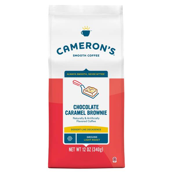 Chocolate Caramel Brownie Premium Coffee