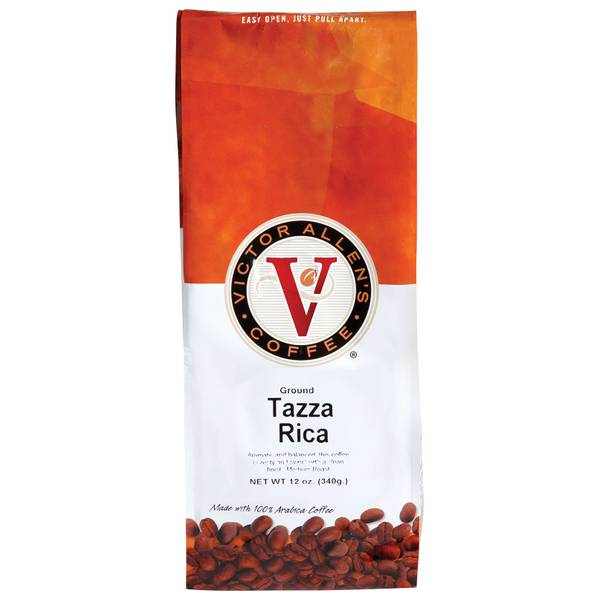 Tazza Rica Ground Medium Roast Coffee