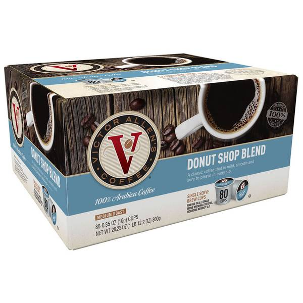 Donut Shop Coffee - 80 Count