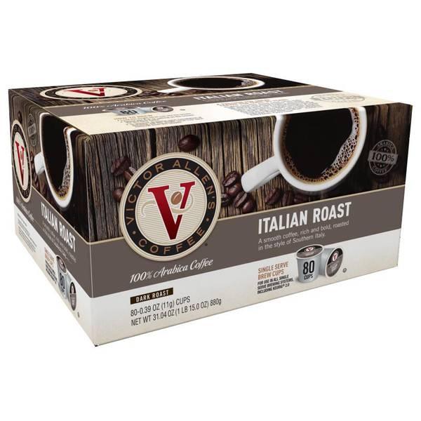 Italian Roast - 80 Count
