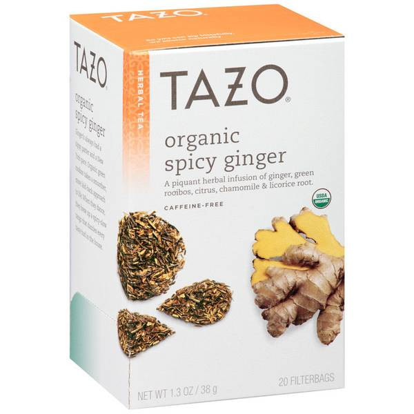 Organic Spicy Ginger Tea