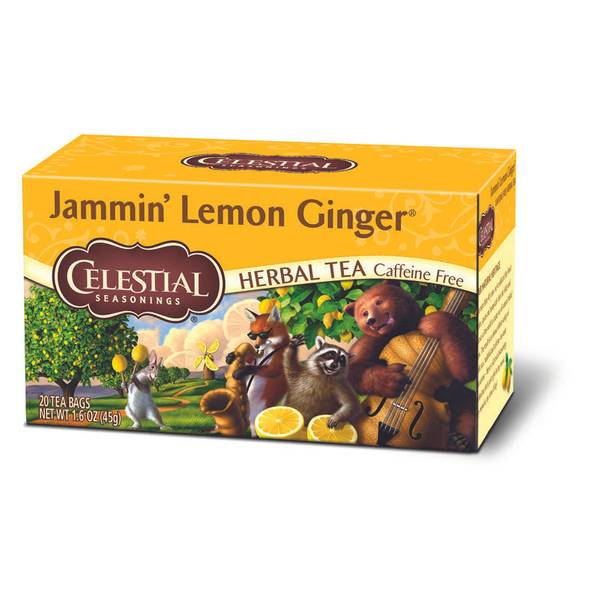 Jammin Lemon Ginger Tea