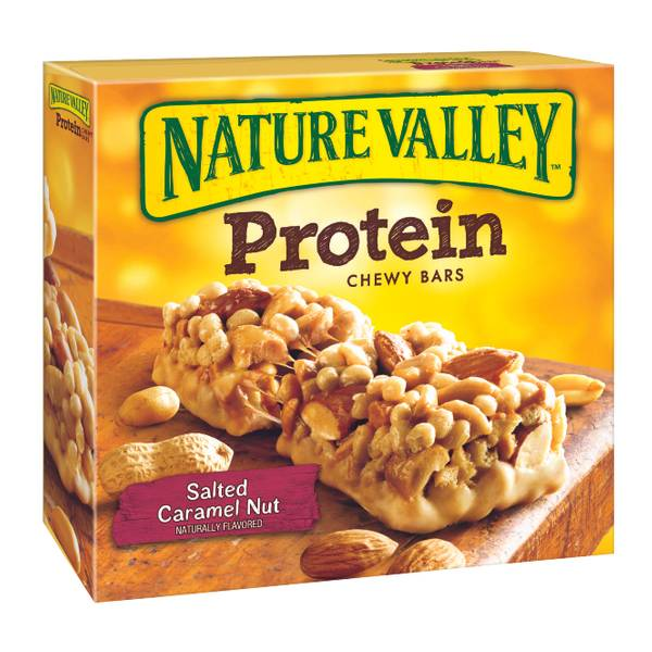 Fiber One Salted Caramel Nut Protein Chewy Bars