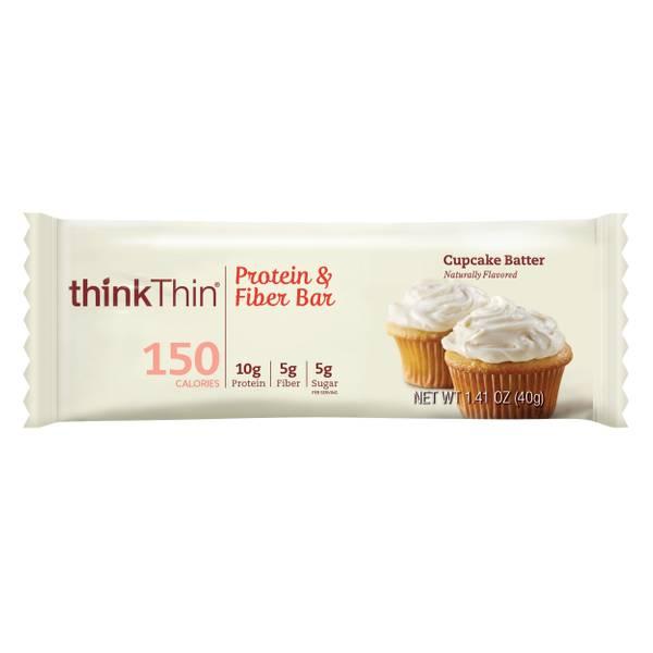 Cupcake Batter Protein & Fiber Bar