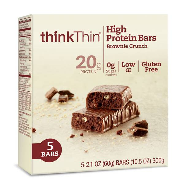 Brownie Crunch High Protein Bars