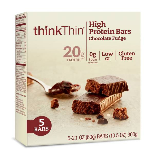 Chocolate Fudge High Protein Bars