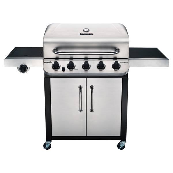 5-Burner Cabinet Gas Grill
