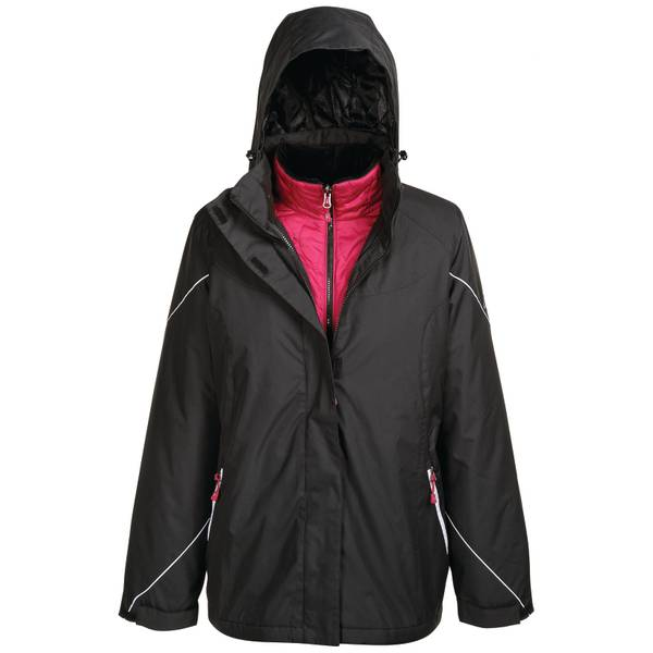 Brielle 3-in-1 Hooded Jacket