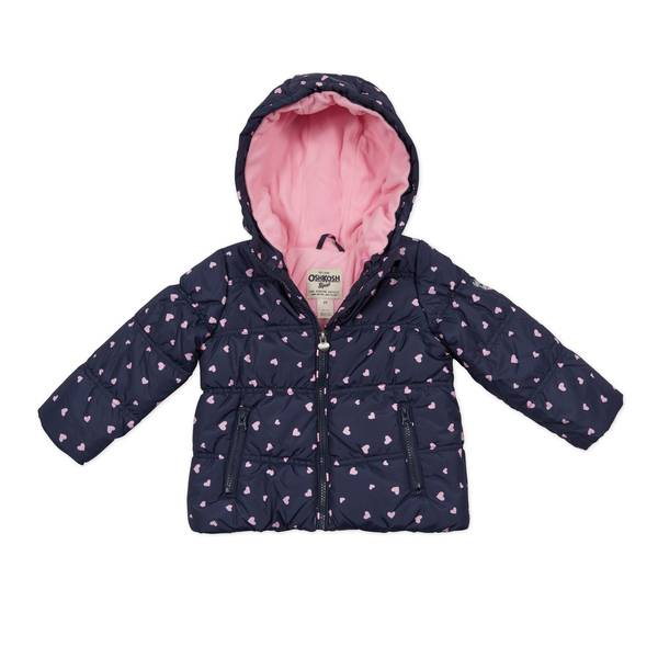 Baby Girls' Puffy Jacket