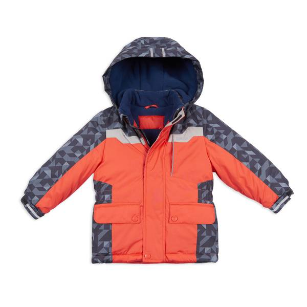 Boys' Hooded Parka