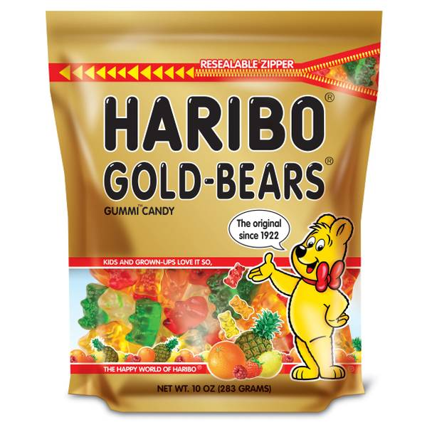 Gold-Bears Gummi Candy