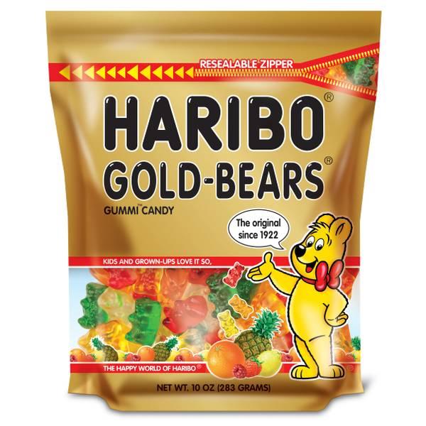 Gold-Bears Gummi Candy