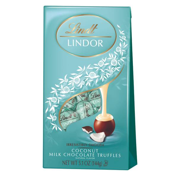 Lindor Coconut Milk Chocolate Truffles