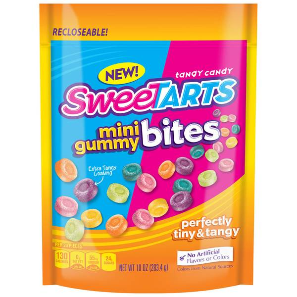 Mini Gummy Bites Tangy Candy