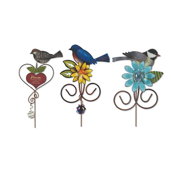 Birds of a Feather Bird Pot Sticker Assortment