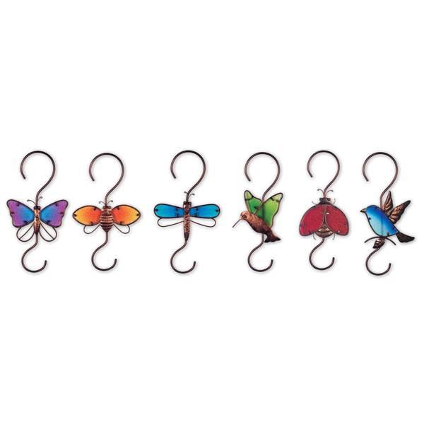 """12"""" Rainbow Garden Hook Assortment"""