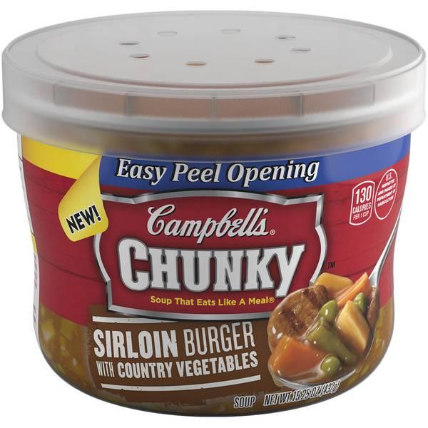 Chunky Sirloin Burger Soup