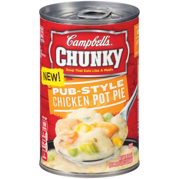 Chunky Pub-Style Chicken Pot Pie Soup